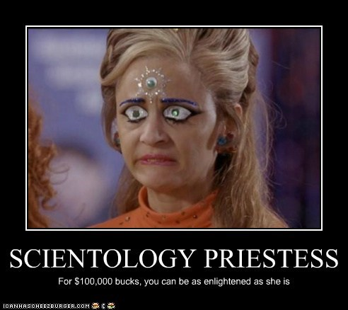 scientology,strangers with candy,amy sedaris,Enlightened,money