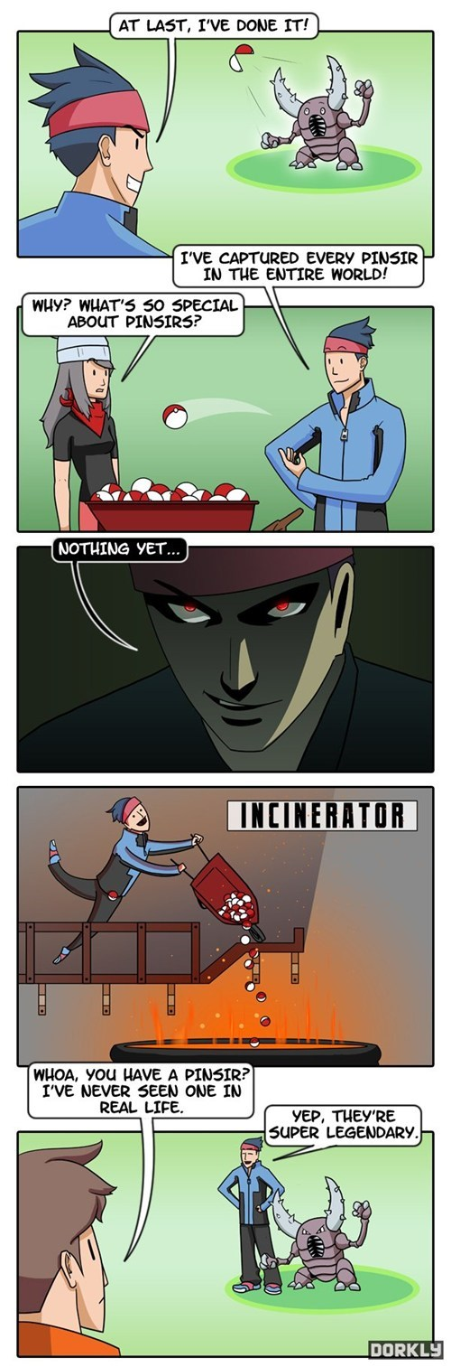 How a Pokémon Becomes Legendary