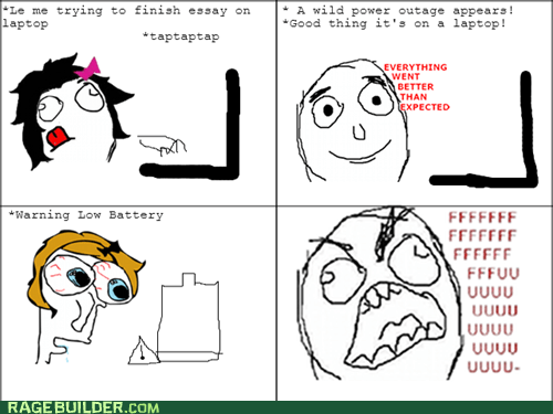 Laptop Rage!