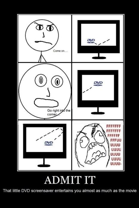 dvds,TV,screen savers,Rage Comics