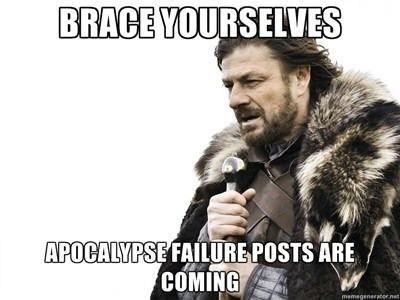 Apocalyptic FAIL