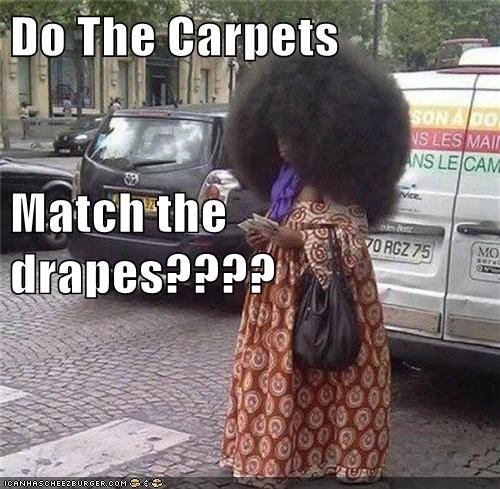 Do The Carpets Match the drapes????