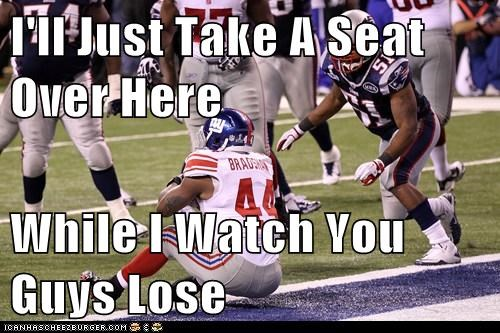 I'll Just Take A Seat Over Here  While I Watch You Guys Lose