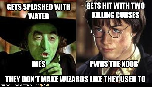 Wicked Witch of the West VS Harry Potter