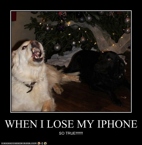 WHEN I LOSE MY IPHONE