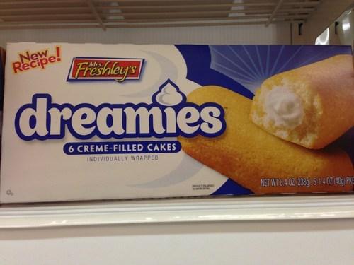 mrs freshleys,twinkies,dreamies,hostess