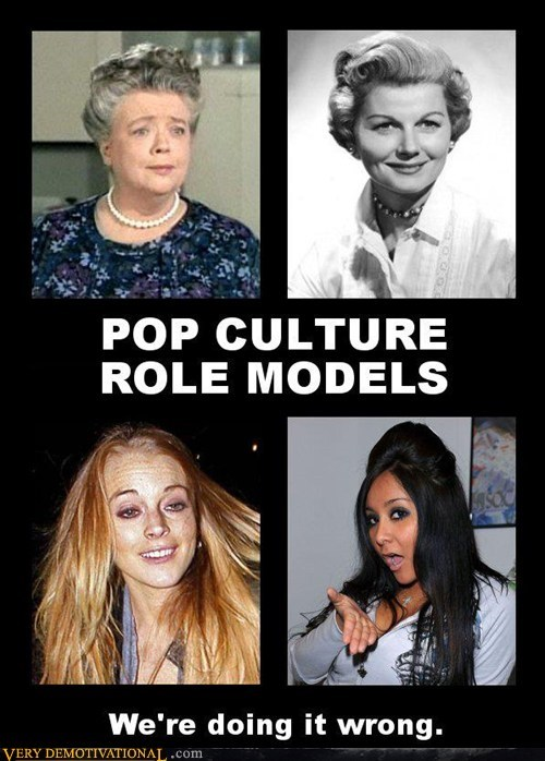 POP CULTURE ROLEMODELS