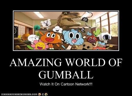 AMAZING WORLD OF GUMBALL