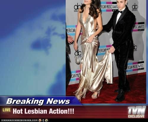 Breaking News - Hot Lesbian Action!!!