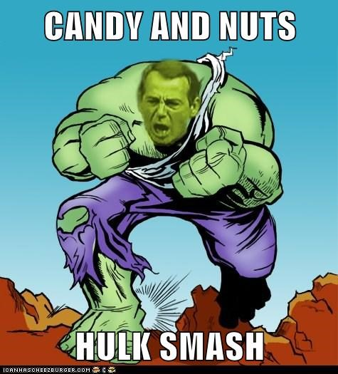 CANDY AND NUTS  HULK SMASH