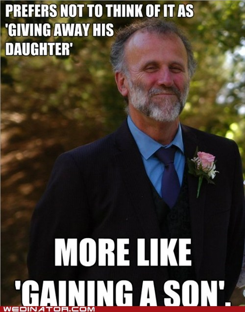 The Bride's Good Guy Dad