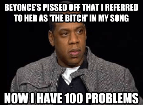 Bad Move, Jay-Z...