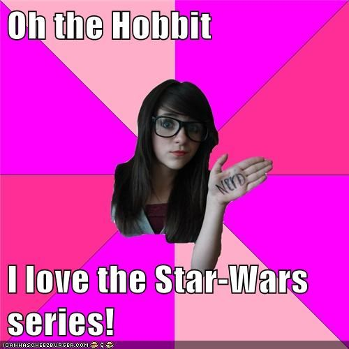 Oh the Hobbit   I love the Star-Wars series!