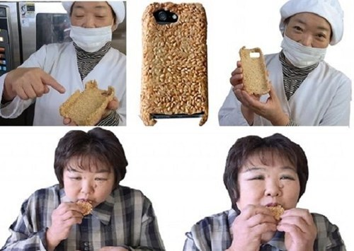 The Edible Phone Case