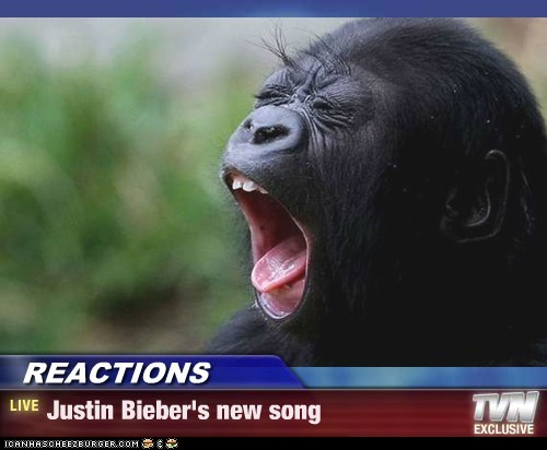 REACTIONS - Justin Bieber's new song