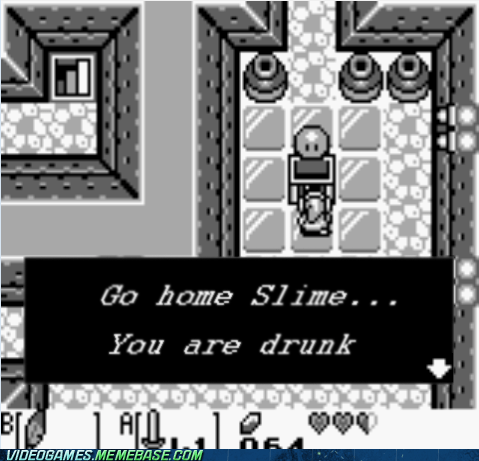 Go home slime