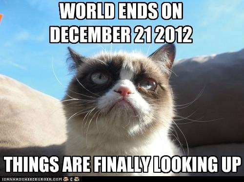 WORLD ENDS ON  DECEMBER 21 2012