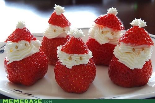 christmas,cute,santa,food,holidays