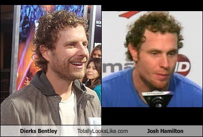 Dierks Bentley Totally Looks Like Josh Hamilton