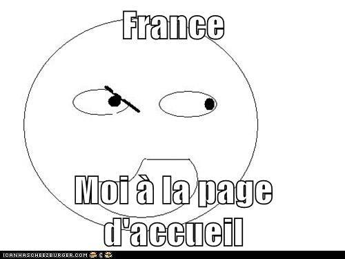 France  Moi à la page d'accueil