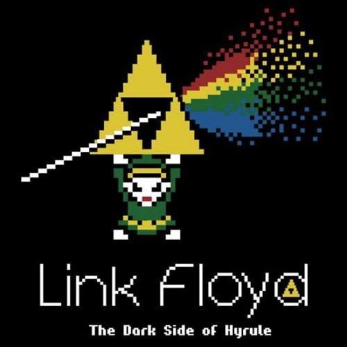link,the legend of zelda,Dark Side of the Moon,pink floyd