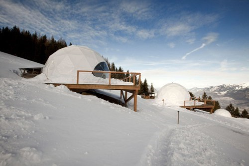The Eco-Friendly Domes of Whitepod Resort