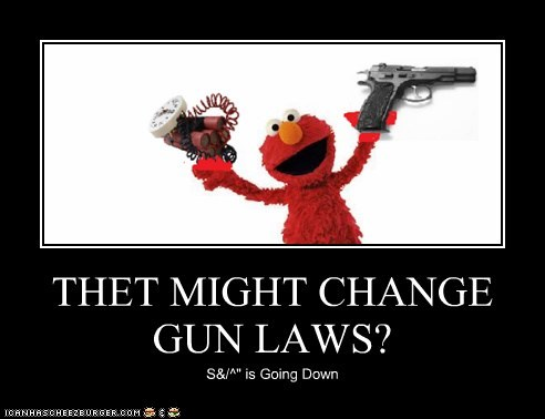 THET MIGHT CHANGE GUN LAWS?