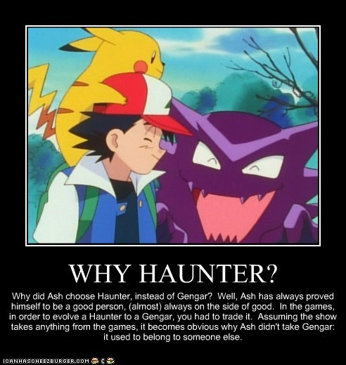 WHY HAUNTER?