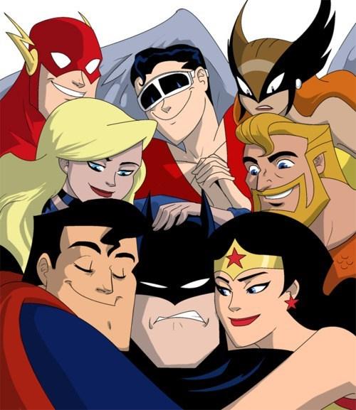 JLA,love fest,superman