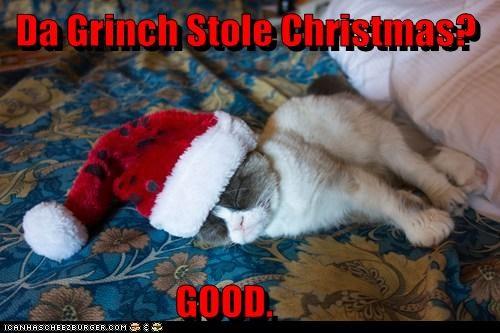 Da Grinch Stole Christmas?