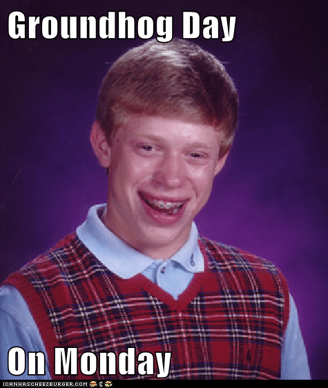 Groundhog Day  On Monday