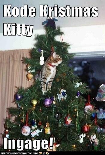 Kode Kristmas Kitty  Ingage!