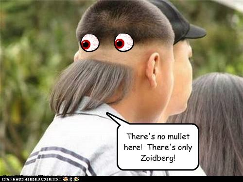 Mullet!? There's only ZOIDBERG!