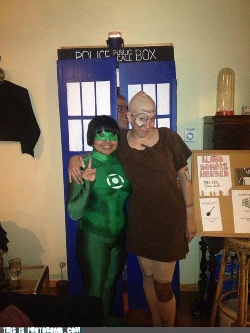 costume,tardis,doctor who,Green lantern