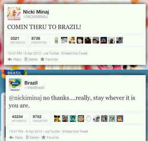 Brazil Knows What's Up