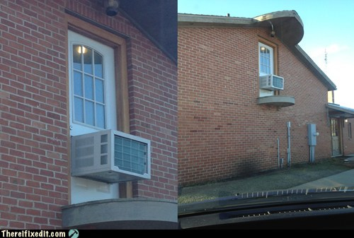 cool door,door fix,ac,air conditioning
