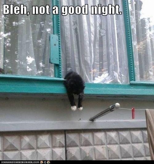 Bleh, not a good night.
