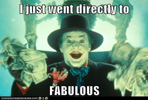 jack nicholson,directly,the joker,fabulous,batman
