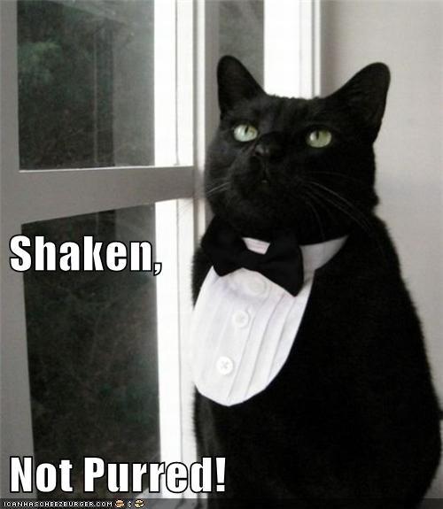 Shaken, Not Purred!