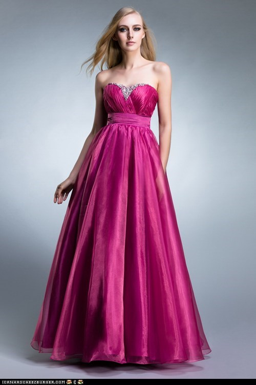 sweet rosa evening dress long in Taft