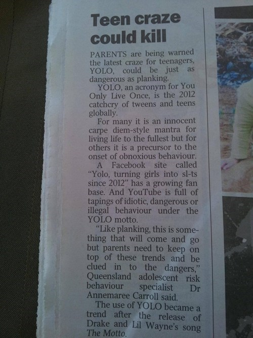 yolo,newpaper,headlines