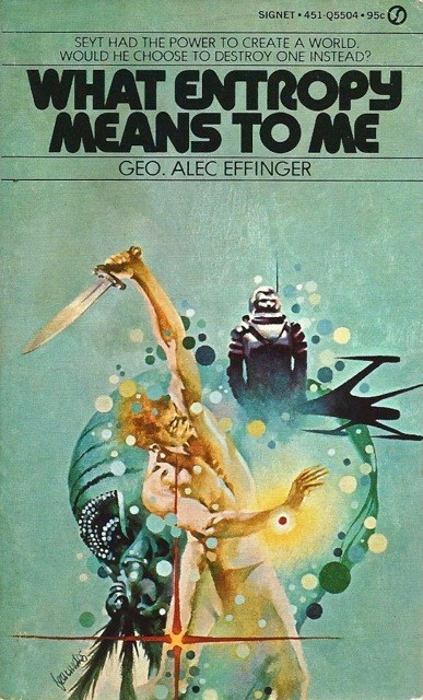 WTF Sci-Fi Book Covers: What Entropy Means to Me