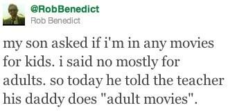 teacher,rob benedict,adult movies