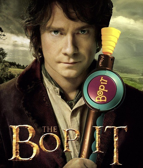 Twist it, Turn it, Bop it Bilbo!