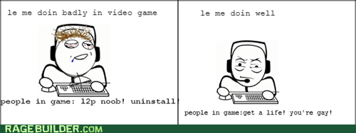 Whenever I Play Games...