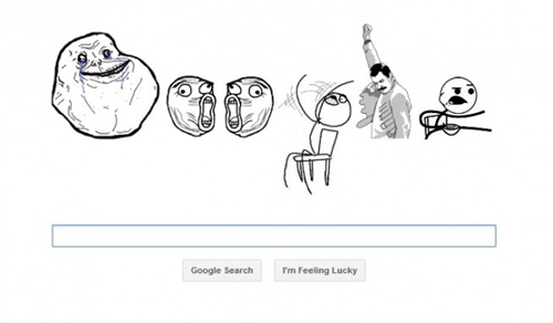 rage faces on google,google