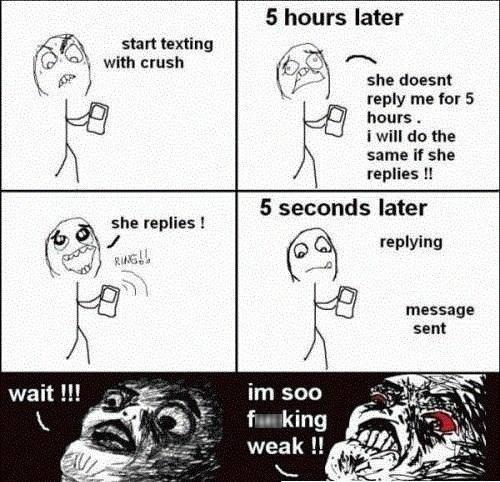 OK Next Time I'll REALLY Make Her Wait