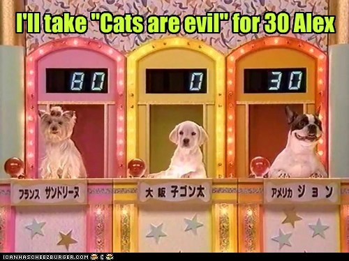 Double Doggie Jeopardy