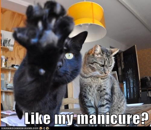 Like my manicure?