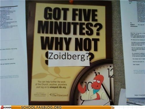 Zoidberg Has All the Answers